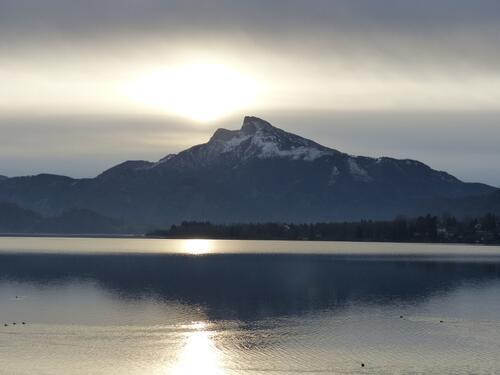 Mondsee-Morgenstimmung Winter