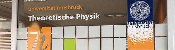 Beschriftung Institut für Theoretische Physik