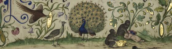 Buchmalerei und Schreibstube im Mittelalter
