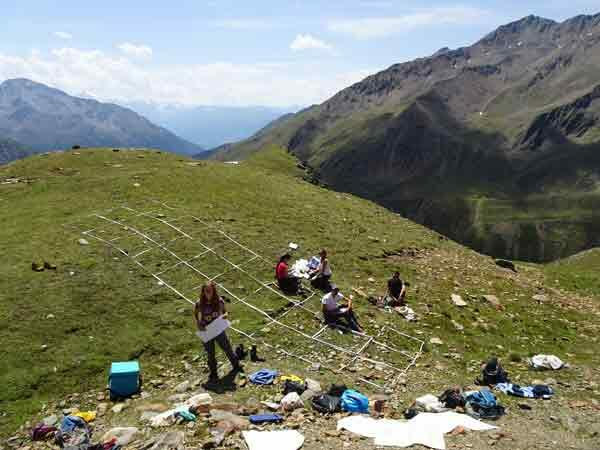 Postcard from Matsch (South Tyrol)