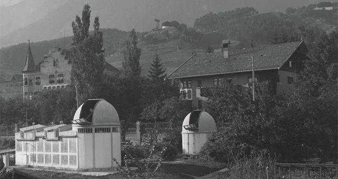 Sternwarte vom Süden (1956)