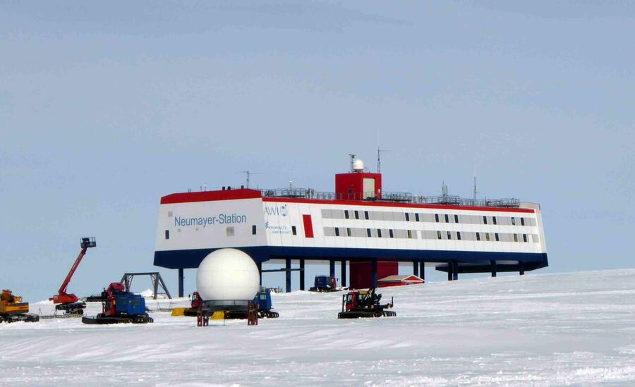 Schlosser in Antarctica