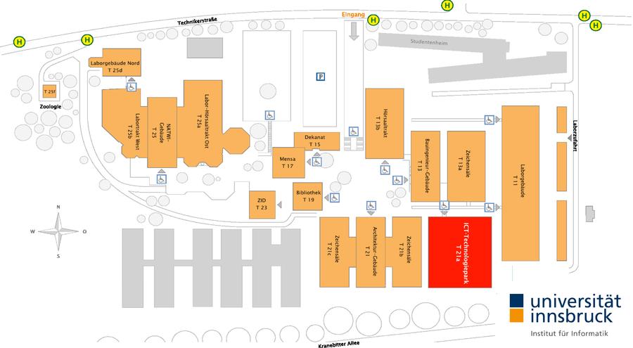 Campusplan Technik