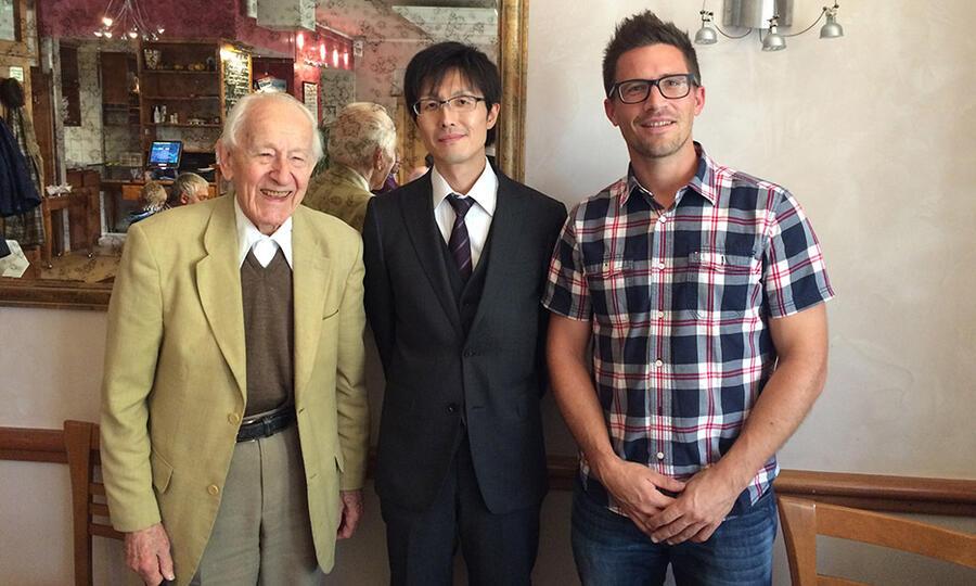 Prof. Jun Takaya (TITECH), Merck-Banyu Lecture Series 2015, 10/2015