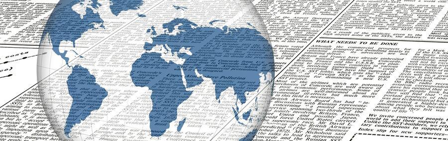 Zeitungen Globus