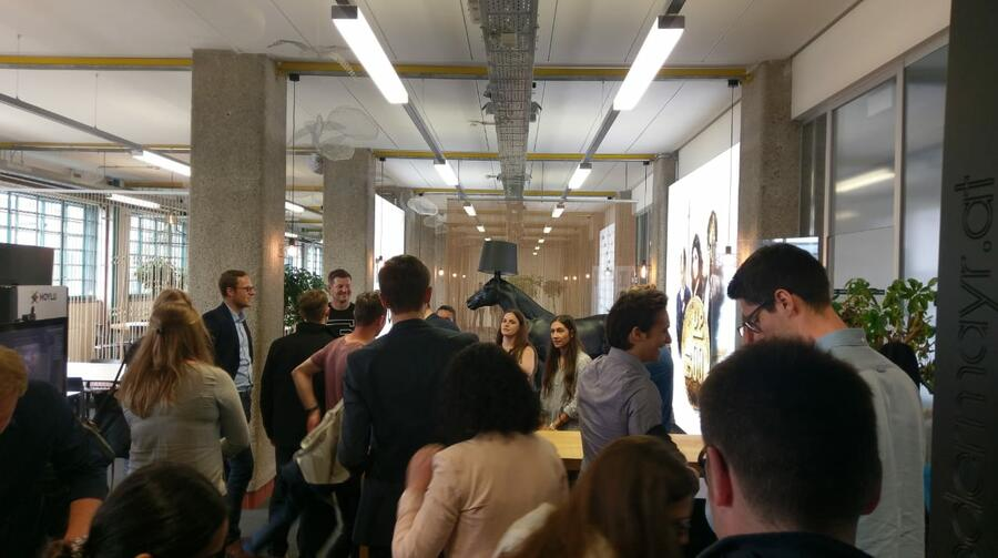Studierendenexkursion in Linz