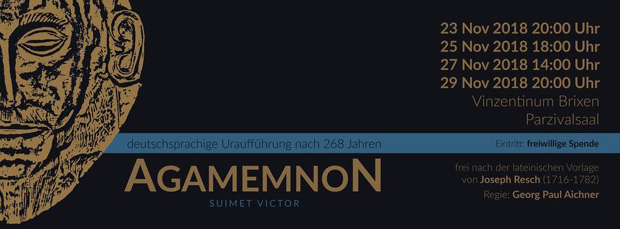 Einladungsflyer Agamemnon 2