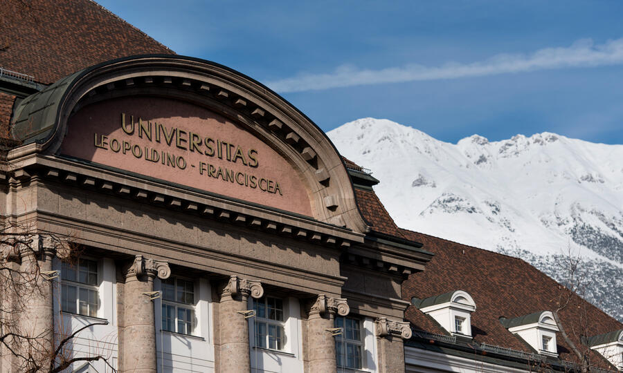University and mountain