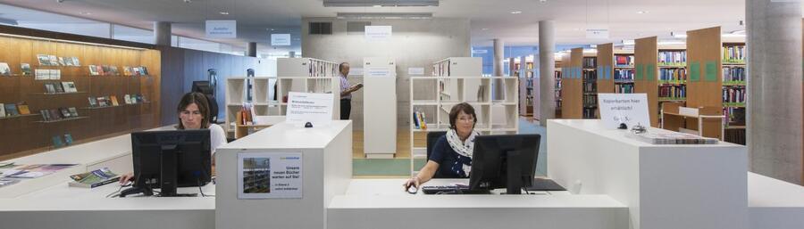 Informationstheke SoWi-Bibliothek