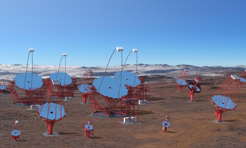 CTA Telescopes in Southern Hemisphere