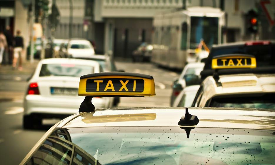 Taxi and Cars