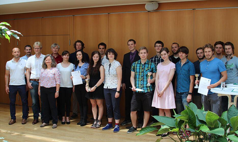 Gruppenfoto der IT-Preis-GewinnerInnen