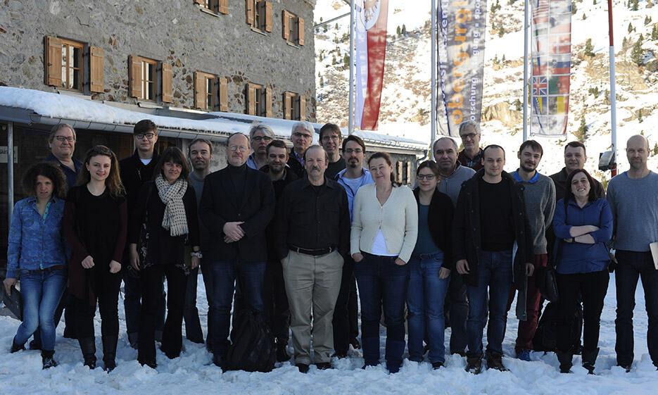 Teamfoto des HVW 2017 in Obergurgl