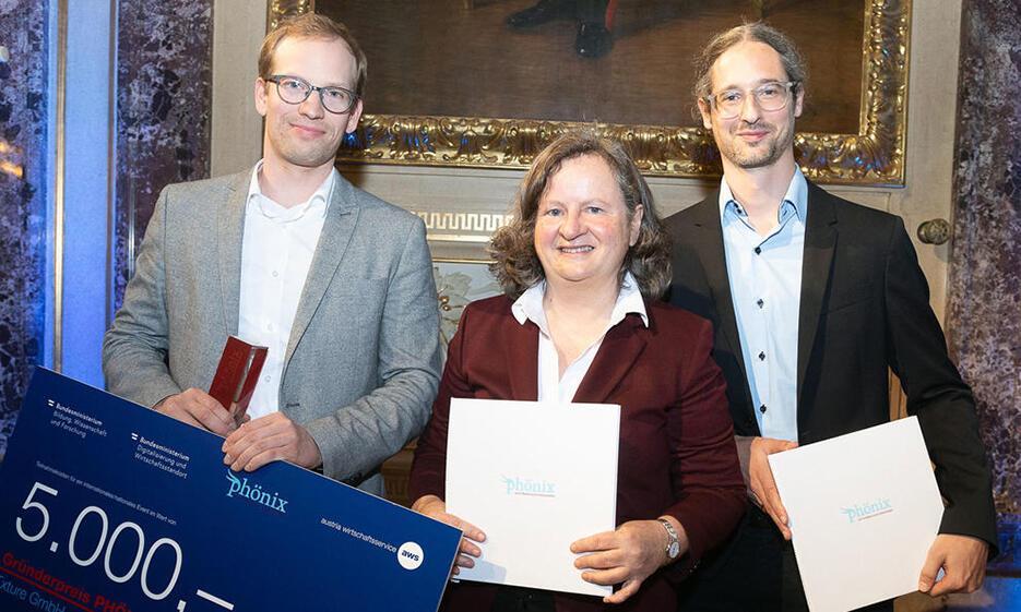 Uni-Spin-off mit Gründerpreis PHÖNIX prämiert