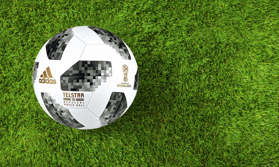Official ball of the FIFA World Cup 2018.