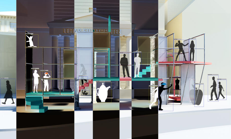 """""""Theatrics of Interspace"""" uses digital methods to revive the building"""