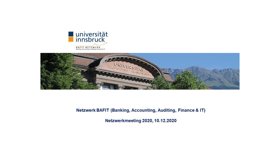BAFIT Netzwerkmeeting 2020 BG