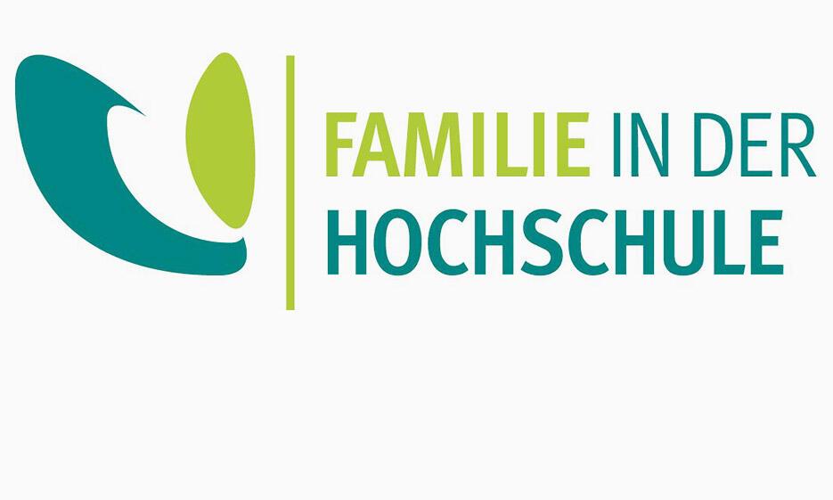 """Logo """"Familie in der Hochschule"""""""