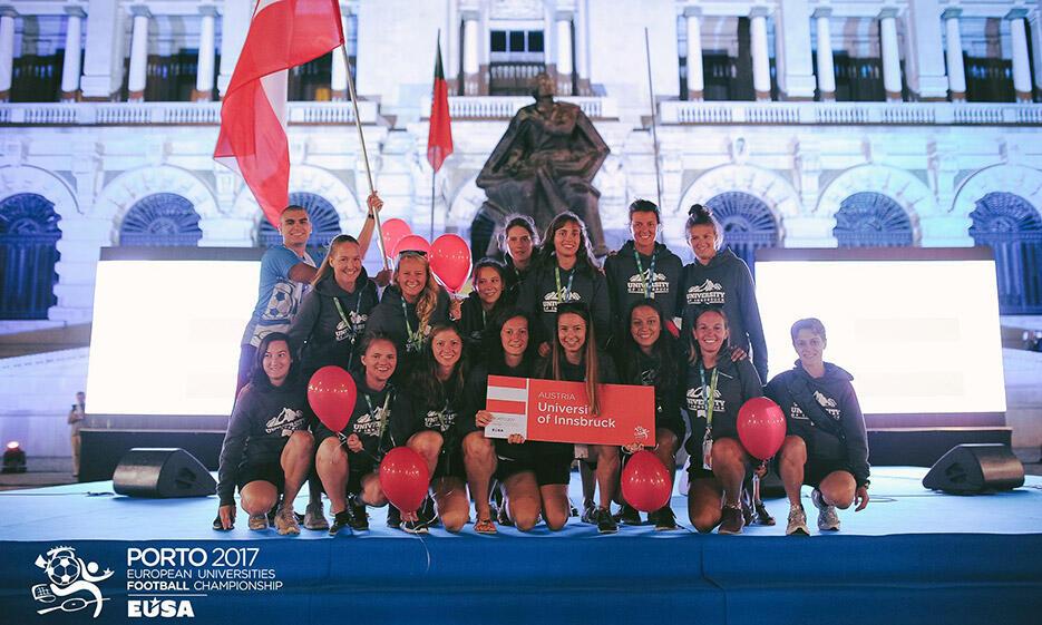 TeilnehmerInnen an der 2017 European University Championships