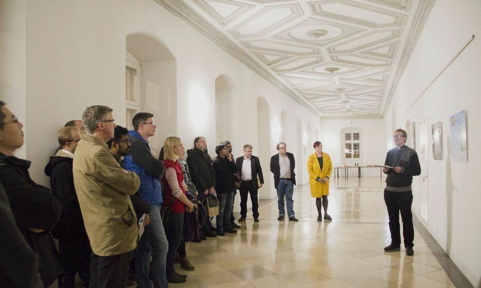Eröffnung Ausstellung Wissenschaftsposter