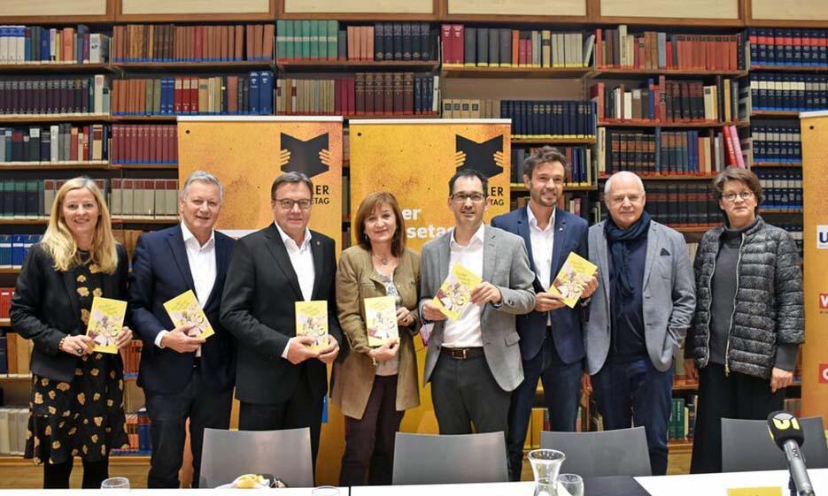 Pressekonferenz Tiroler Vorlesetag