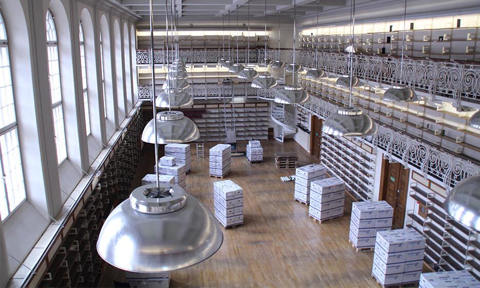 Umbau Historischer Lesesaal