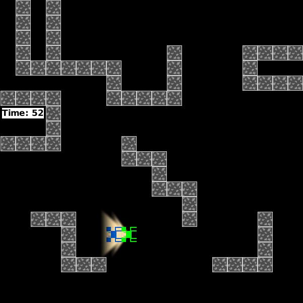 Screenshot vom Spiel Hide n' Seek