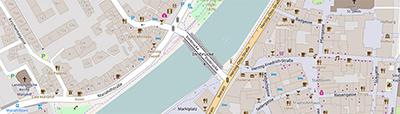 Open Street Map Ausschnitt