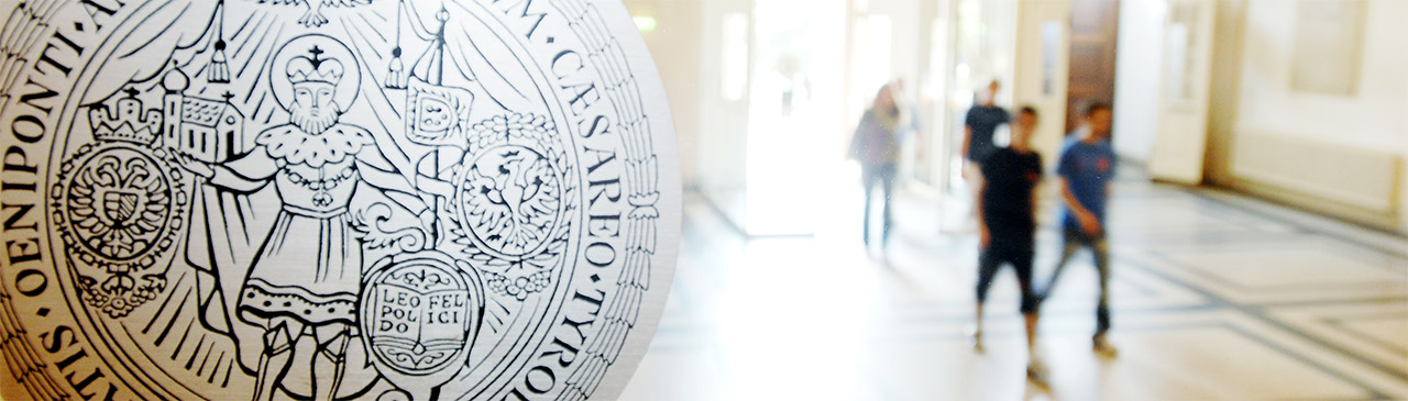 Universität Innsbruck Eingangsbereich