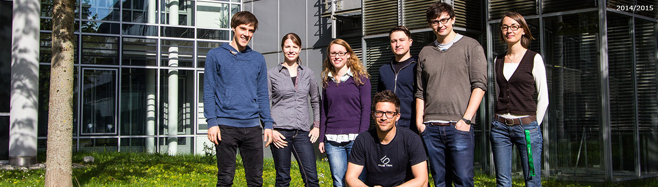 Gruppenfoto (2014/2015): April 2014 @ LMU Munich