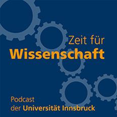 Logo Zeit für Wissenschaft Podcast der Universität Innsbruck