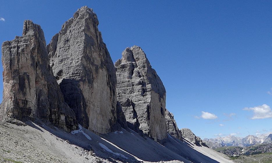Berge Drei Zinnen