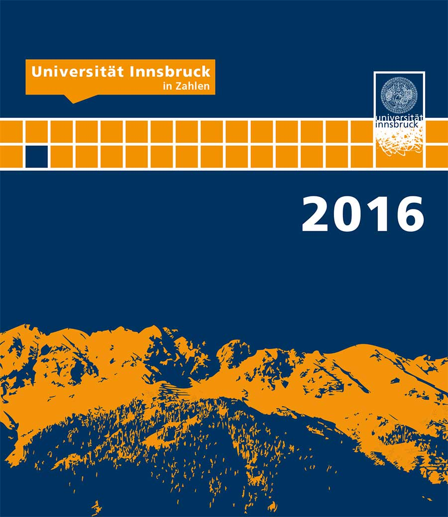 Universität Innsbruck in Zahlen 2016