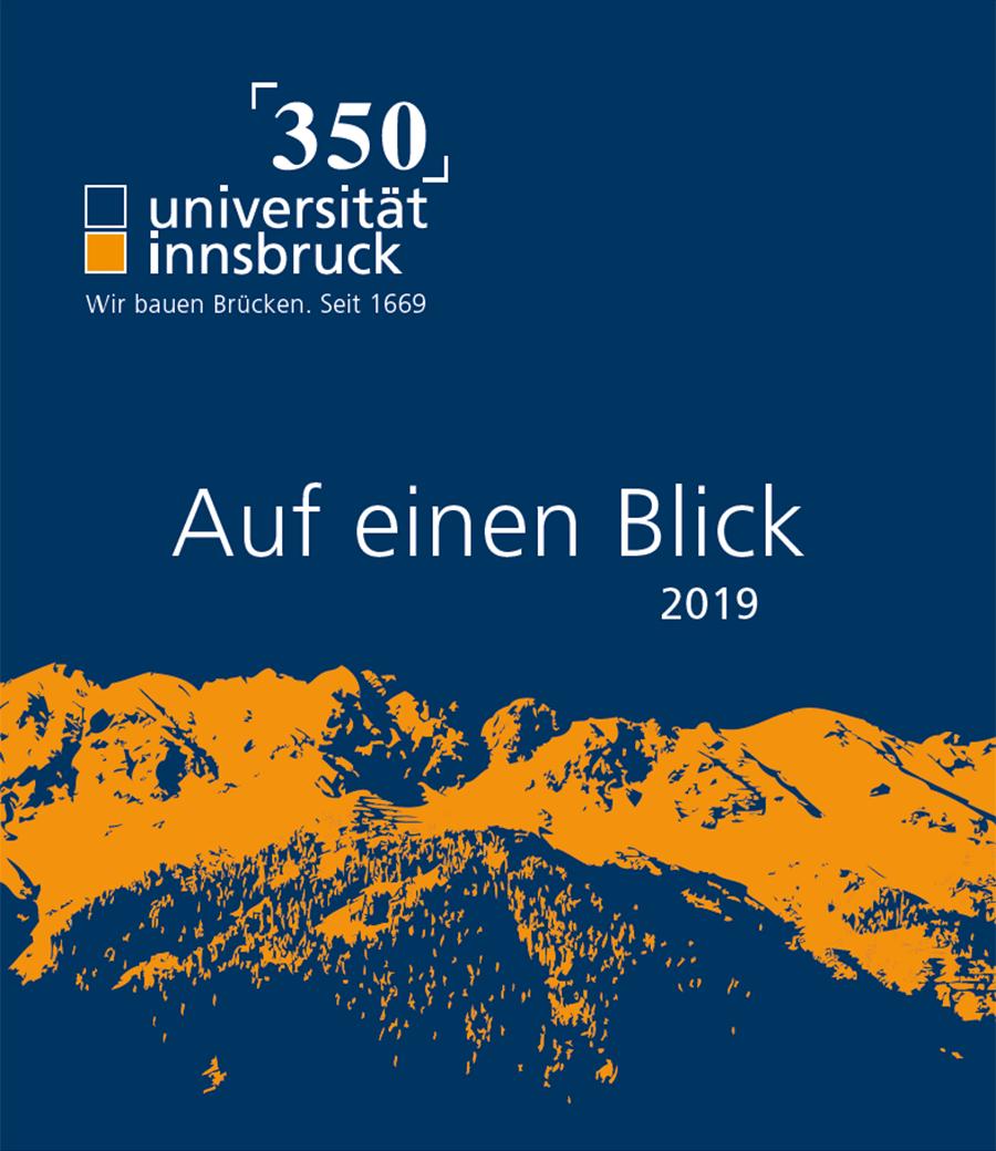 Universität Innsbruck in Zahlen 2019