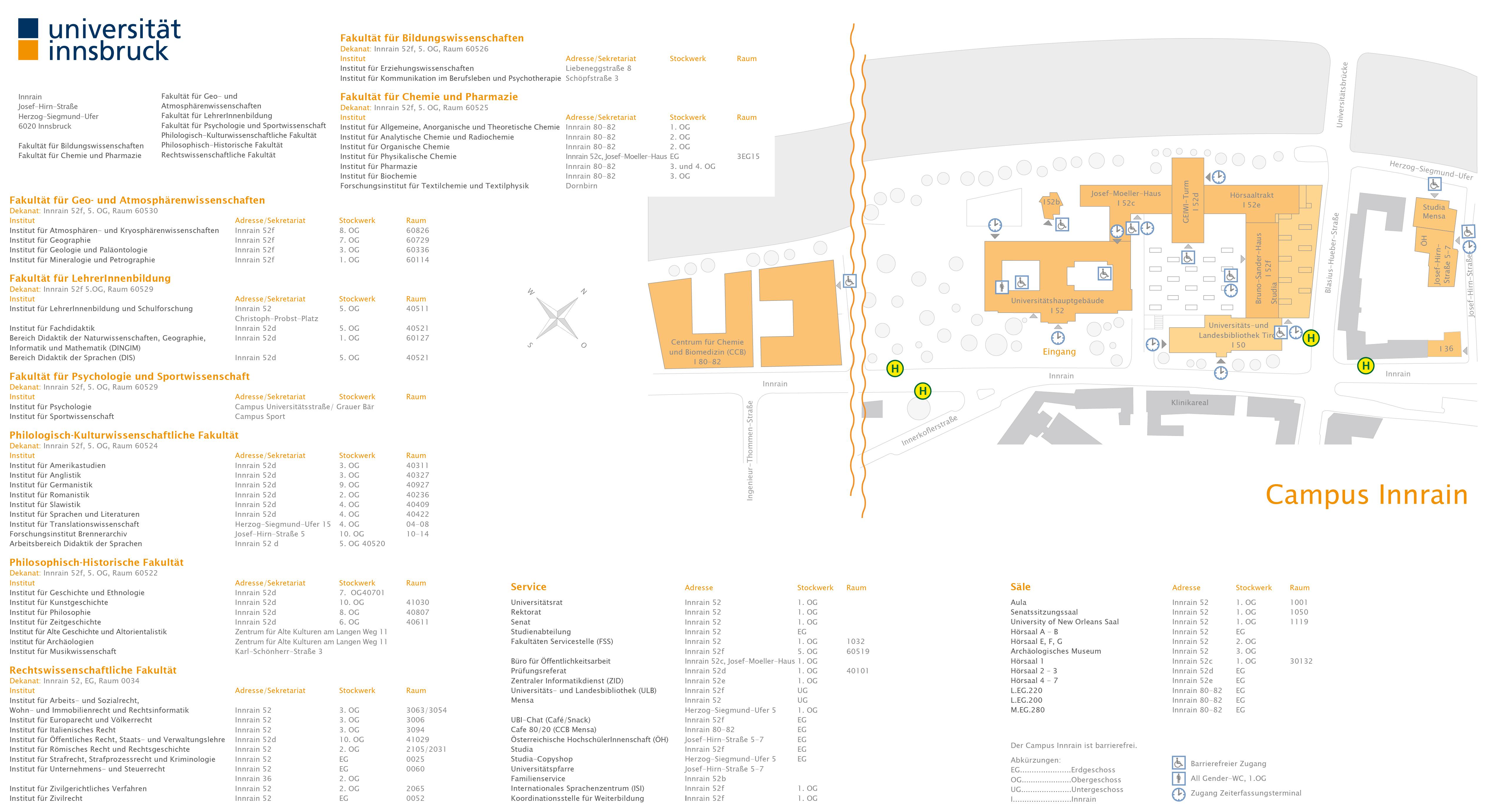Plan Campus Innrain